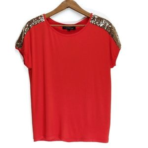 HKR Collections | Annalisa Sequin Shoulder Top